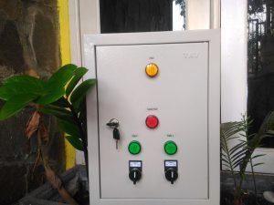 Panel Otomatis Tandon dengan 2 buah Pompa Air